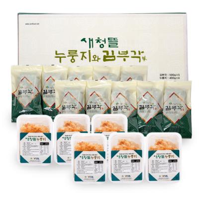 누룽지와 김부각  [새청뜰 식품]